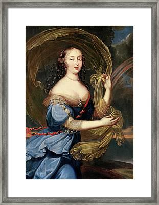 Francoise-athenais De Rochechouart De Mortemart Framed Print by Louis Ferdinand Elle