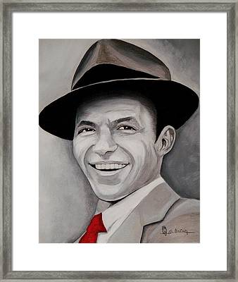 Frank  Framed Print by Al  Molina
