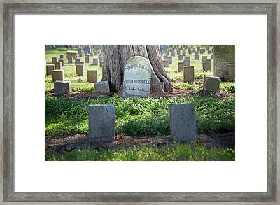 Frank And John Framed Print by Steven  Michael