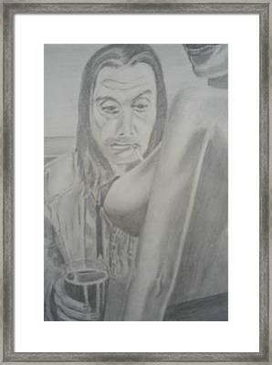 Frank Gallagher Shameless Framed Print by James Dolan