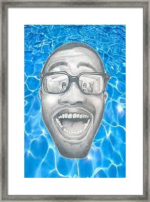 Frank Ocean Framed Print by Mercedes Carter-Gomes