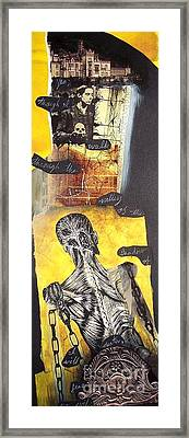 Frankenstein Framed Print by Xoey HAWK