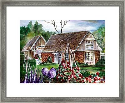 Franklin Park Conservatory Education Pavilon Framed Print by Mindy Newman