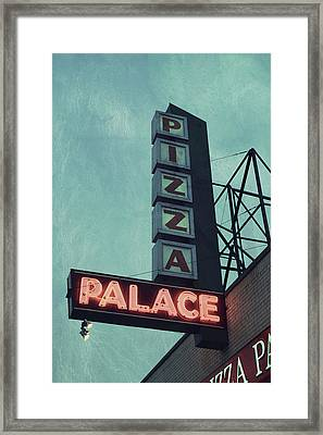 Frank's Pizza Palace Framed Print by Joel Witmeyer
