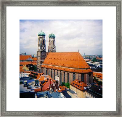 Frauenkirche Munich  Framed Print by Kevin Smith