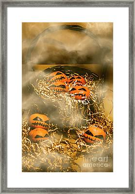 Freaky Halloween Fruits Framed Print by Jorgo Photography - Wall Art Gallery