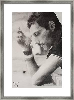 Freddie  Framed Print by Dan Lamperd