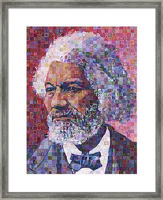Frederick Douglass Framed Print by Randal Huiskens