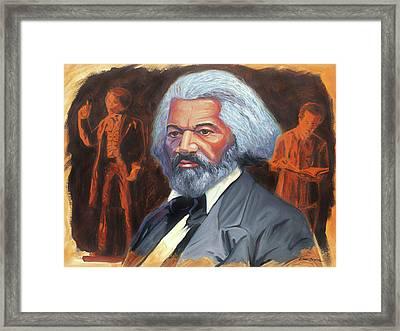 Frederick Douglass Framed Print by Steve Simon