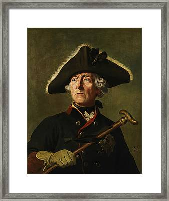 Frederick The Great Framed Print by War Is Hell Store