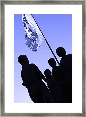 Fredom Fighters Framed Print by Toppart Sweden