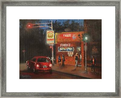 Fred's Framed Print by Tom Shropshire