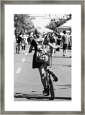 Free Moving  Framed Print by JC Photography and Art