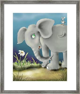 Free Ride Framed Print by Hank Nunes