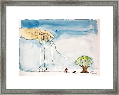 Free Will Framed Print by Keshava Shukla