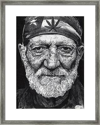 Free Willie Framed Print by Jeff Ridlen