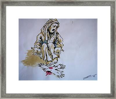 Freedom Dead Framed Print by Paulo Zerbato