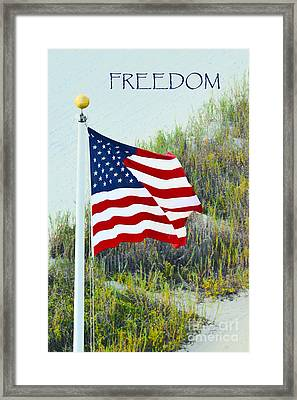 Freedom Framed Print by Gerlinde Keating - Galleria GK Keating Associates Inc