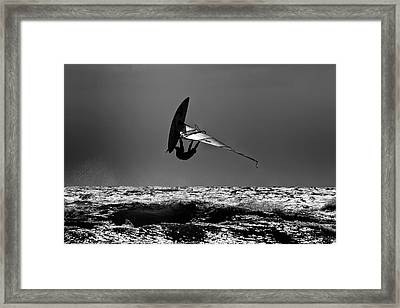 Freestyle Framed Print by Stelios Kleanthous