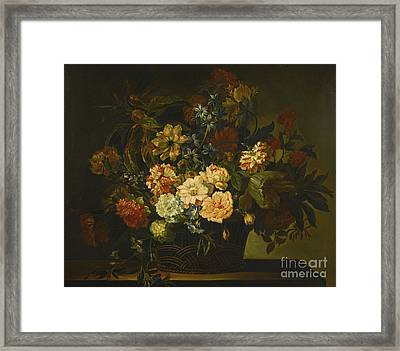 French Baroque Era Painter Framed Print by MotionAge Designs