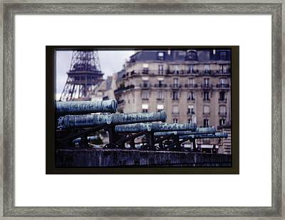 French Canons Framed Print by Don Wolf