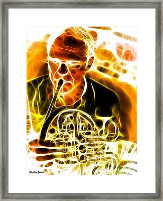 French Horn Framed Print by Stephen Younts