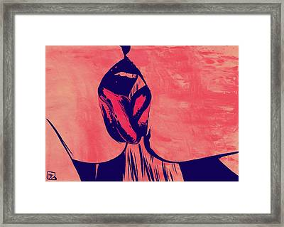 French Kiss Framed Print by Giuseppe Cristiano
