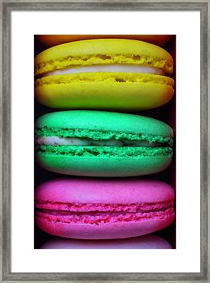 French Macaroons Framed Print by Garry Gay