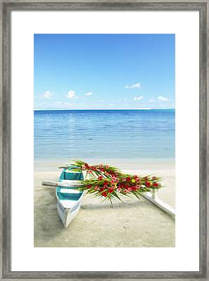 French Polynesia, Huahine Framed Print by Kyle Rothenborg - Printscapes
