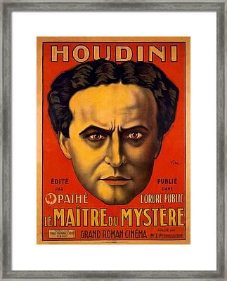 French Poster Advertising Harry Framed Print by Everett