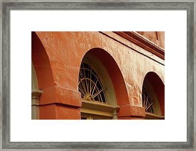 French Quarter Arches Framed Print by KG Thienemann