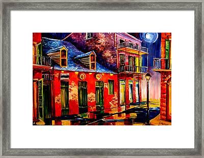 French Quarter Dazzle Framed Print by Diane Millsap