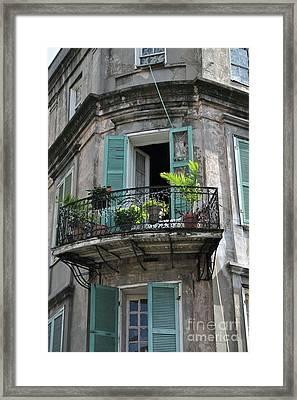 French Quarter Skyscraper Framed Print by Nola Originals