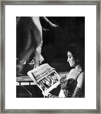 French Quarter Vice Raids Framed Print by Underwood Archives