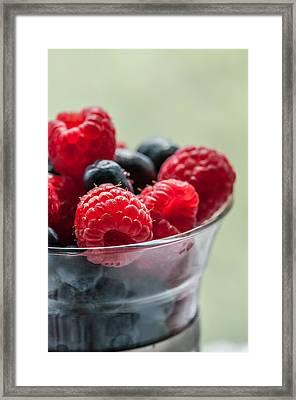 Fresh And Yummy Framed Print by Maggie Terlecki