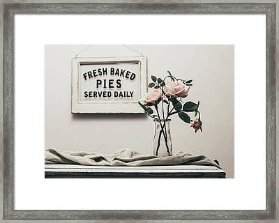 Fresh Baked Framed Print by Kim Hojnacki
