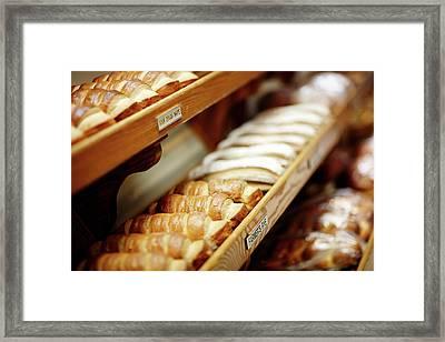 Fresh Bread Framed Print by Todd Klassy