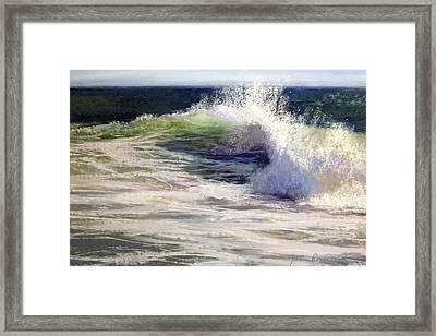 Fresh Framed Print by Jeanne Rosier Smith