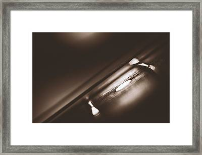 Fretboard Framed Print by Scott Norris
