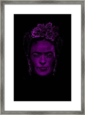 Frida Kahlo  Framed Print by Brian Broadway