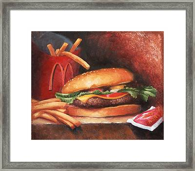 Fries With That Framed Print by Timothy Jones
