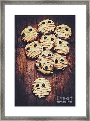 Fright Night Party Baking Framed Print by Jorgo Photography - Wall Art Gallery