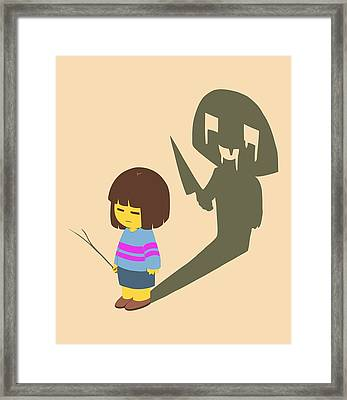 Frisk Framed Print by Rene Gut