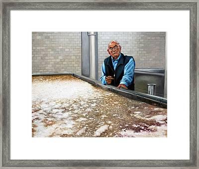 Fritz Framed Print by Gregg Hinlicky
