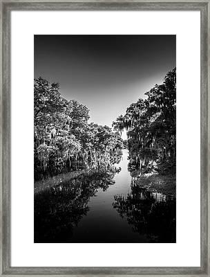 Frog Creek Framed Print by Marvin Spates