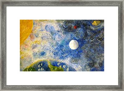 From A Distance Framed Print by Tina Swindell