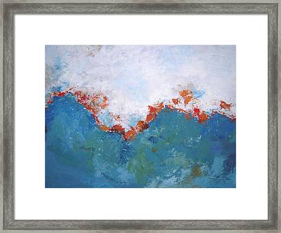 From Above Framed Print by Kate Tesch