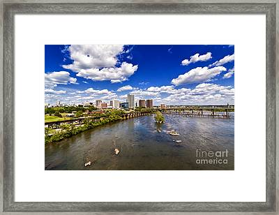 From Afar Framed Print by Tim Wilson