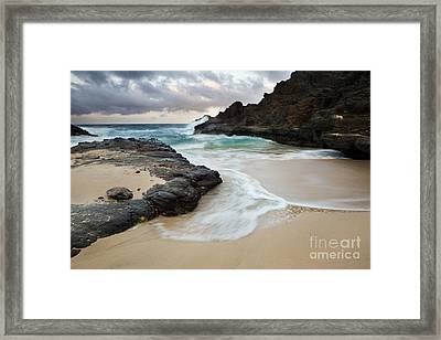 From Here To Eternity Framed Print by Charmian Vistaunet