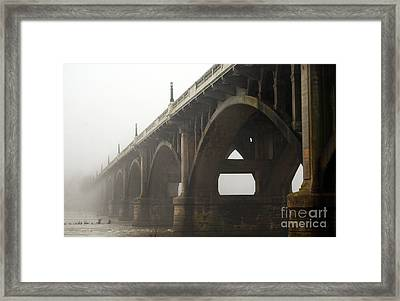 From Mass To Infinity Framed Print by Skip Willits